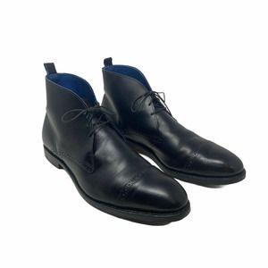 Allen Edmonds Black Leather Men's Chukka Boots 12